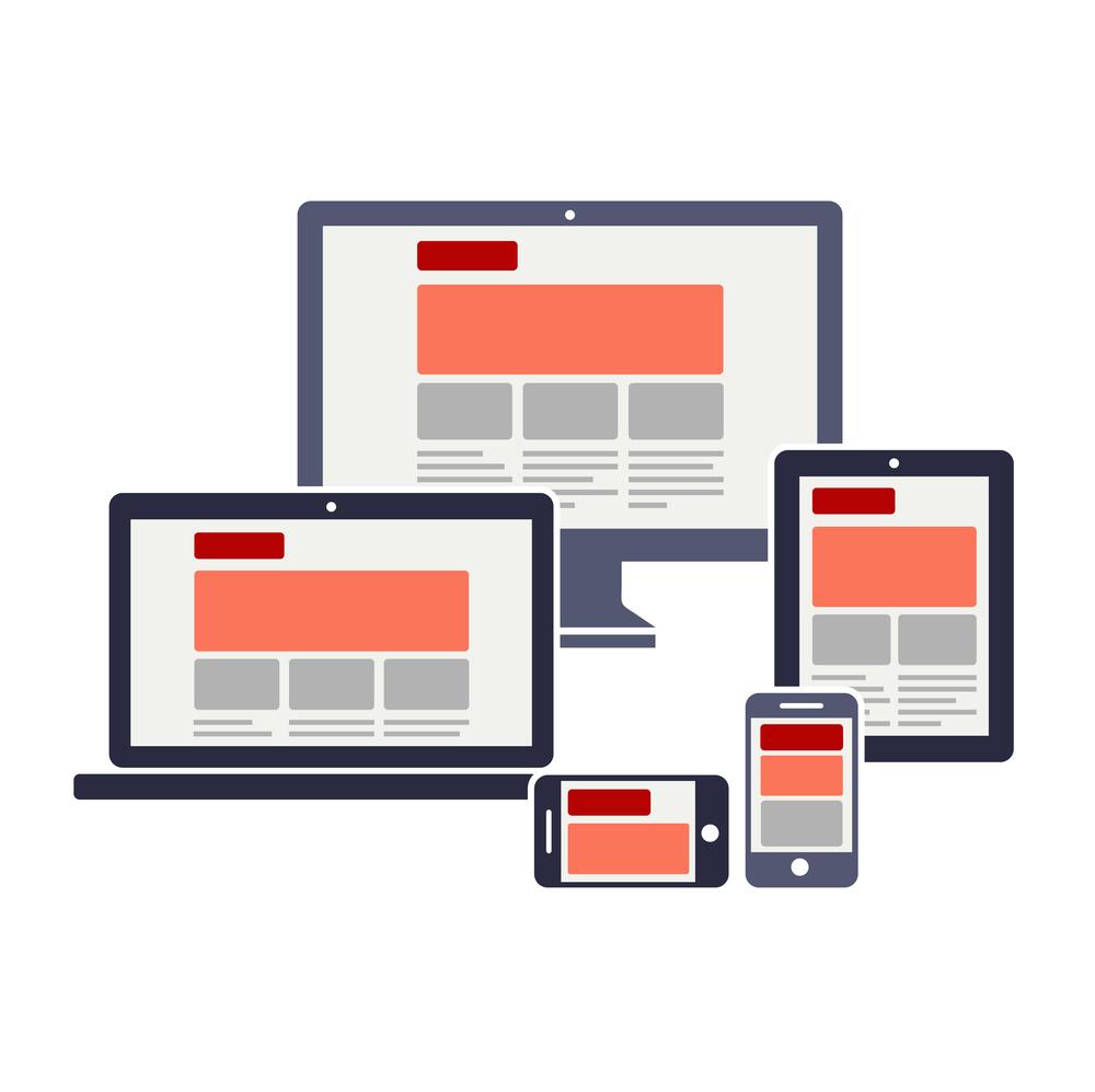 Responsive Seiten sehen nicht nur am Laptop oder dem Computer gut aus, sondern auch auf Smartphones und Tablets.
