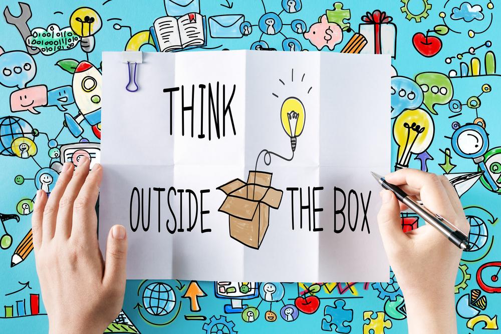 Alternativ denken: Think outside the box